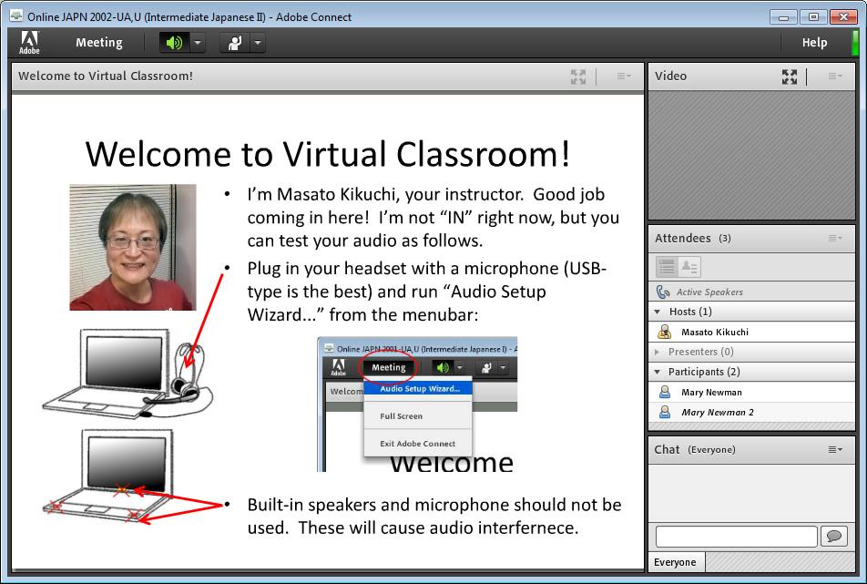 adobe virtual classroom